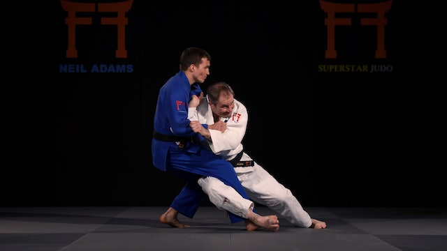 Seoi Nage / Kouchi Gari Combination | Neil Adams