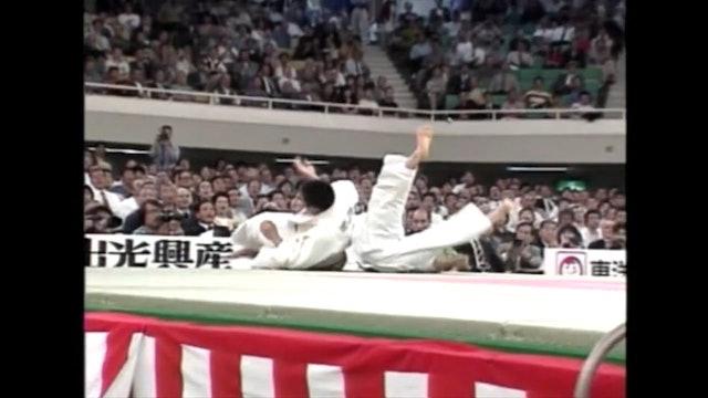 Ouchi gari against left | Inoue (FRA)