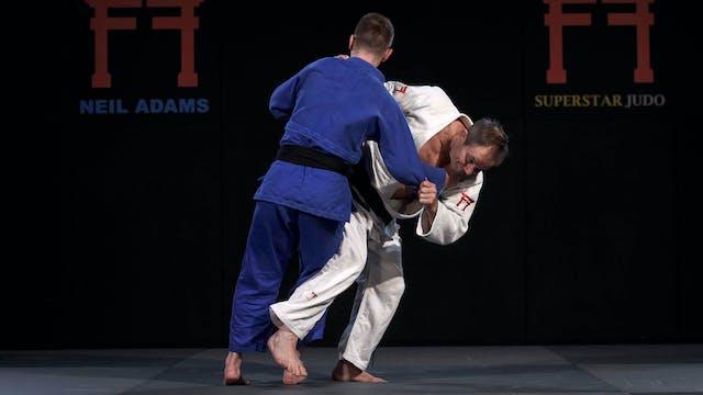 -70kg Haruka Tachimoto's (JPN) Osoto ...