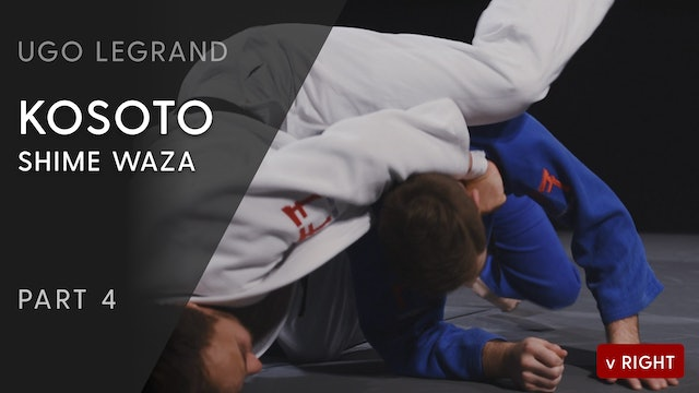 Kosoto - Shime waza variation vs opposite | Ugo Legrand