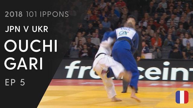101: Ouchi gari - JPN v UKR -48kg