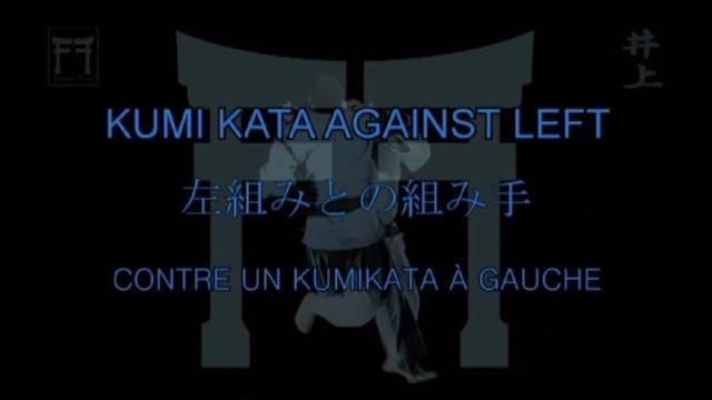 Kosei Inoue - Kumi kata against left hand