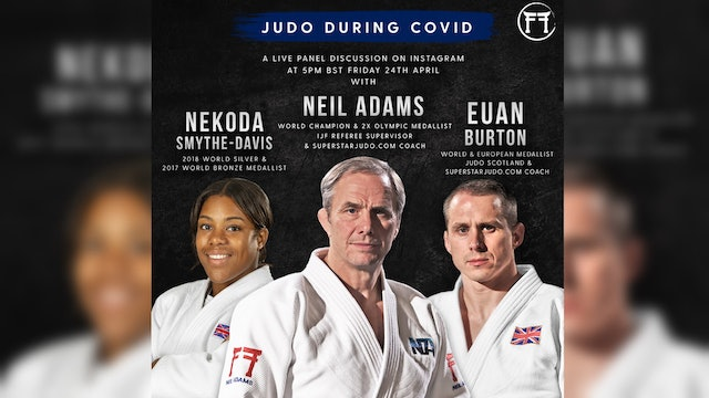 Judo During Covid | Live Panel