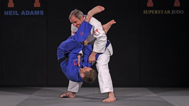 Flying Juji gatame | Neil Adams