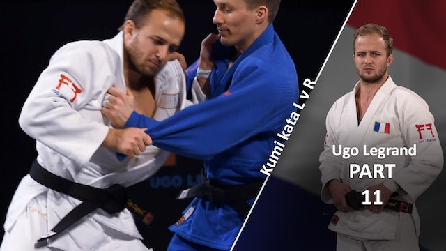Kumi kata - Pinning the sleeve, overview | Ugo Legrand