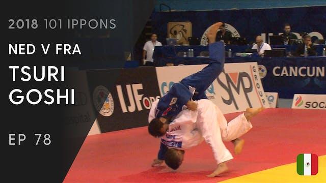 101: Tsuri goshi - NED v FRA -60kg