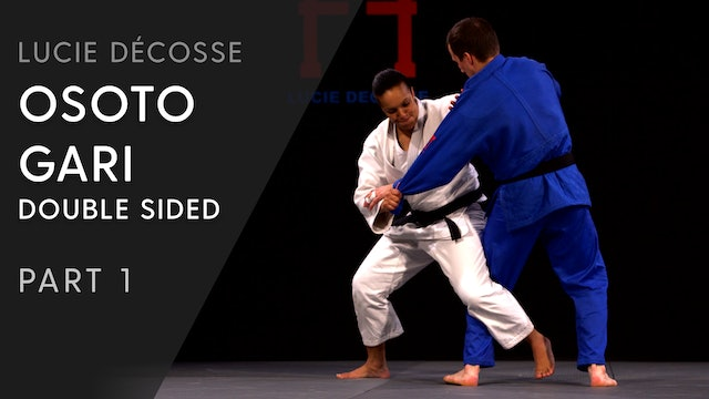 Double sided Osoto gari | Overview | Lucie Décosse