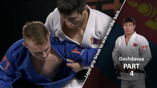 Lapel grip break vs extreme left | Dashdavaa