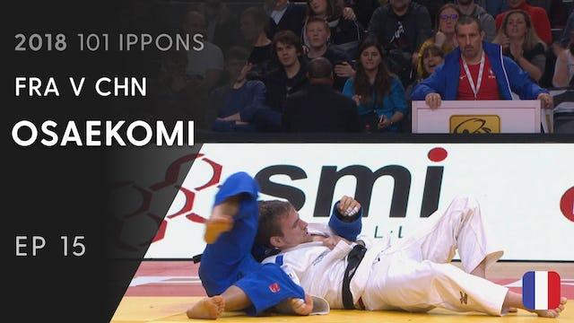 101: Osaekomi - FRA v CHN -66kg