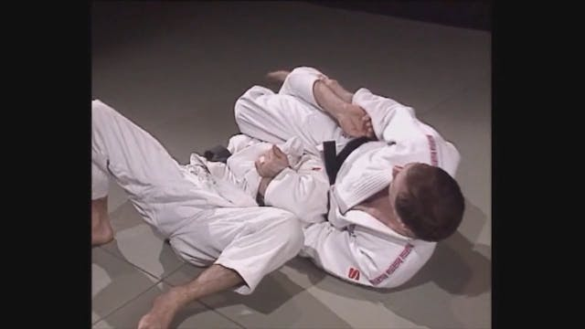 Neil Adams - San gaku - Leg strangle