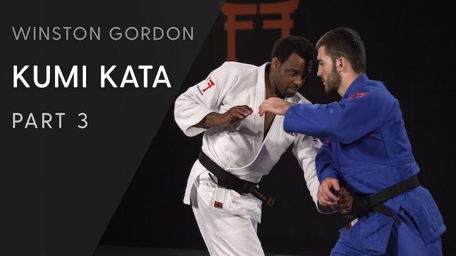 Catch and push across the body | Winston Gordon