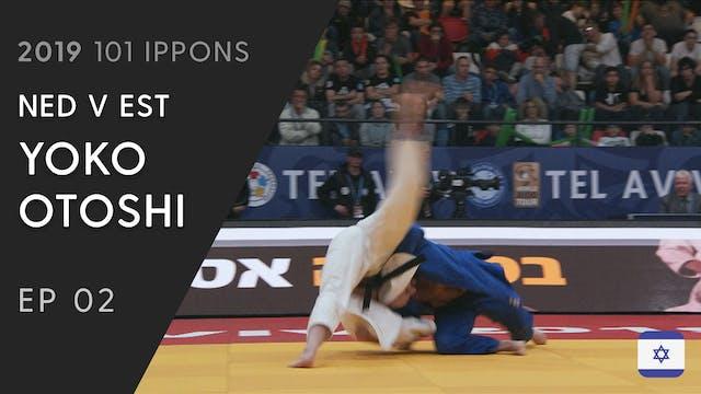 101: Yoko Otoshi - NED v EST -100kg