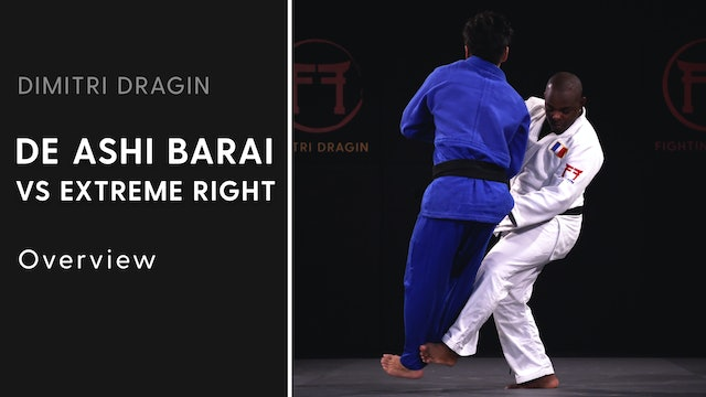 Overview | De Ashi Barai VS Extreme Right | Dimitri Dragin
