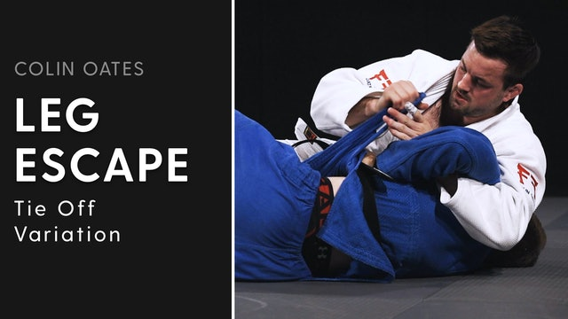 Tie Off Variation | Leg Escape | Colin Oates
