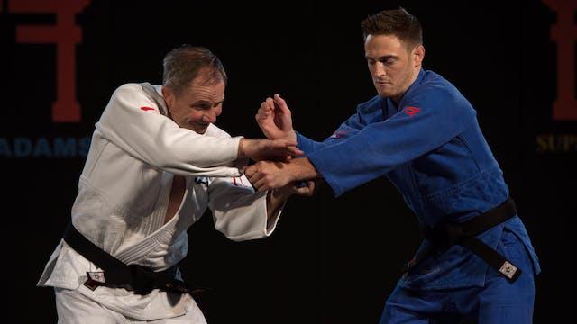 Gordon's double grip break   Neil Adams