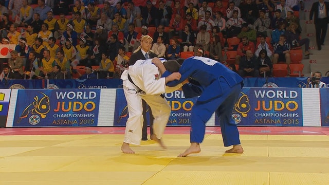 101: Yoko tomoe nage / ashi jime - BRA v UAE -81kg