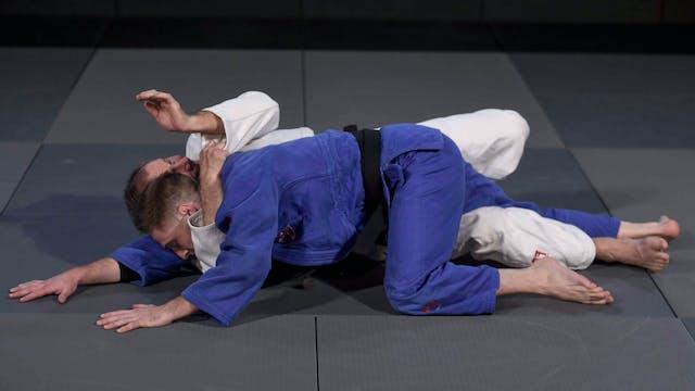 -100kg: Lukas Krpalek's (CZE) strangl...