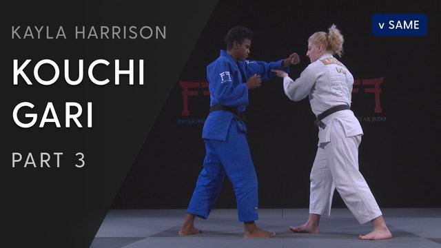 Kouchi gari vs Same - Step by Step | Kayla Harrison
