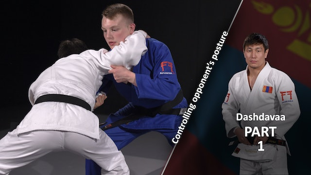 Controlling opponent's posture | Dashdavaa