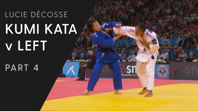Kumi Kata vs Left Competition Variations | Lucie Décosse