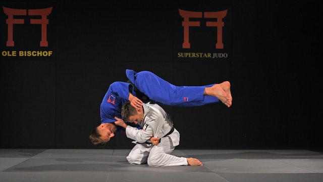 Cross grip Drop Seoi nage - Overview | Ole Bischof
