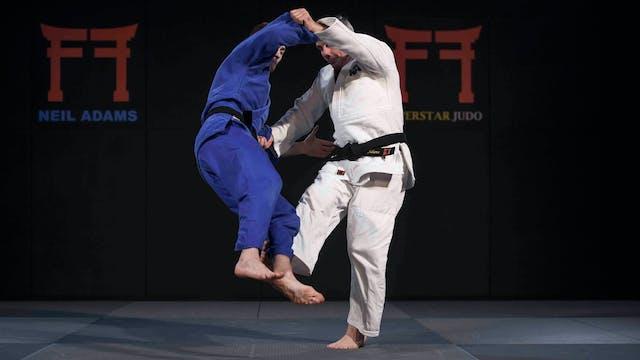 -66kg Fabio Basile's (ITA) De ashi ba...