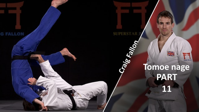 Tomoe nage v extreme same stance | Craig Fallon