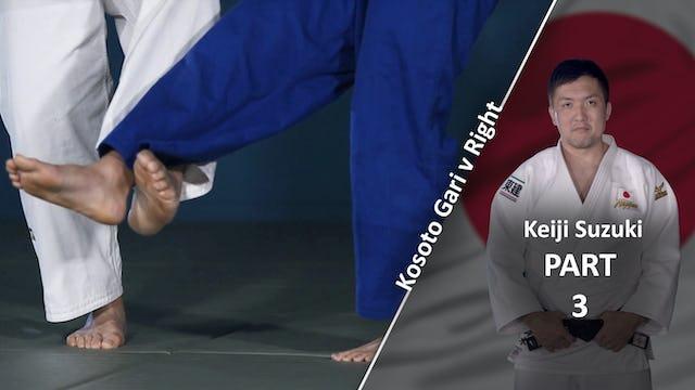 Legs vs right | Keiji Suzuki