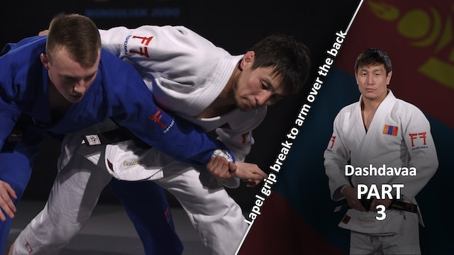 Lapel grip break - Completion vs left | Dashdavaa