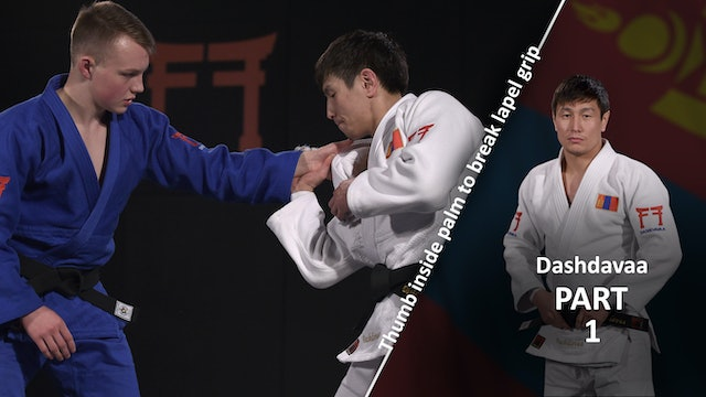 Lapel grip break - the Thumb vs left | Dashdavaa