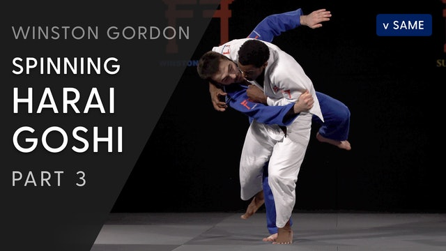 Spinning Harai goshi - Pivot and Execution | Winston Gordon