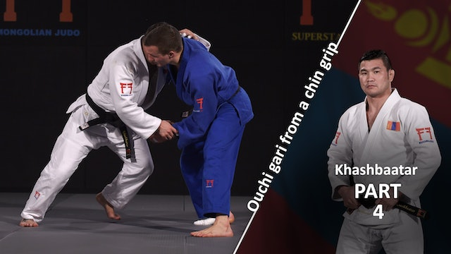 From chin grip - Foot movement | Khashbaatar