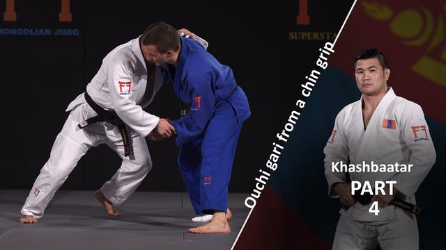 From chin grip - Foot movement | Khas...