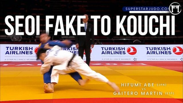 Abe Hifumi's Seoi Fake To Kouchi | Competition Masterclass