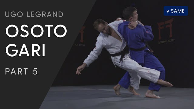 Osoto gari - Into Kosoto vs same | Ug...