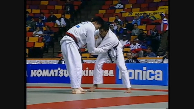 Drop Seoi nage - left v right | Jeon