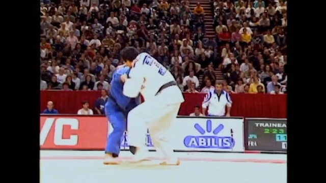 Kosei Inoue - Kumi kata against right arm over the top