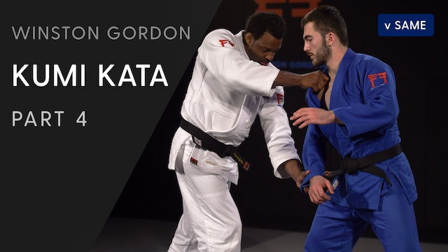 Sleeve catch into cross grip | Winston Gordon
