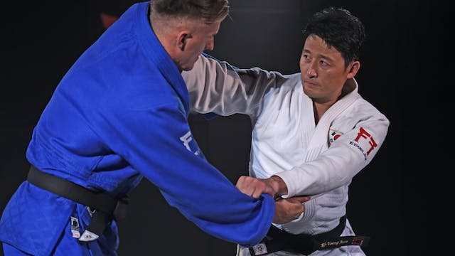 Controlling the distance | Korean Judo