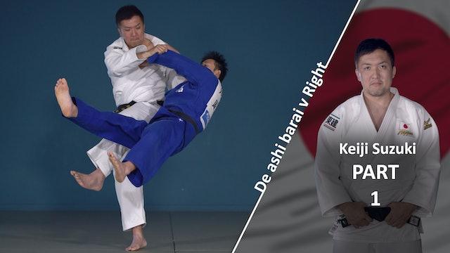 Overview VS Right | De Ashi Barai | Keiji Suzuki