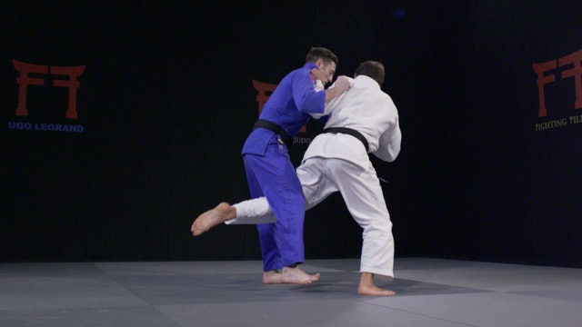 Uchi mata to Ouchi - Spinning variation  vs opposite | Ugo Legrand