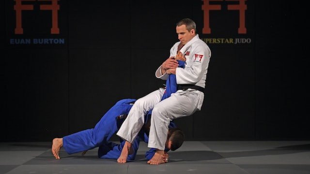 Juji gatame from transition | Euan Burton