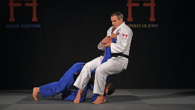Juji gatame from transition | Euan Bu...