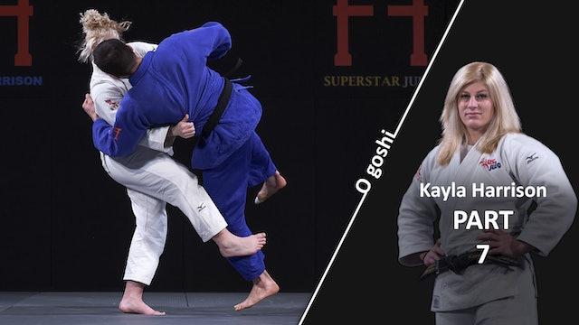 O Goshi - Sasae tsurikomi ashi | Kayla Harrison