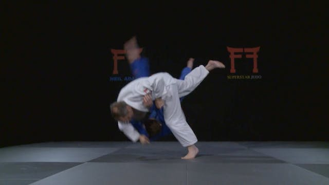 Macedo's Spinning Uchi mata | Neil Adams