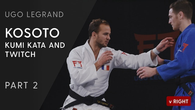 Kosoto - Kumi kata and twitch vs opposite | Ugo Legrand