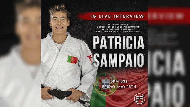 IG Live With Patricia Sampaio