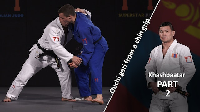 From chin grip - Set-up | Khashbaatar
