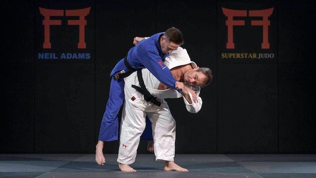 -57kg Rafaela Silva's (BRA) Uki goshi and O goshi | Neil Adams | Rio 2016