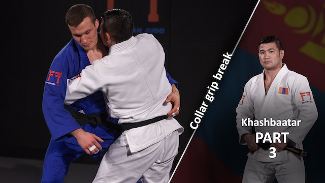Collar grip break - Proximity | Khashbaatar